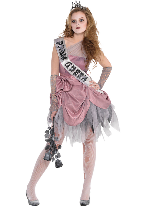 Zom Queen - Child and Teen Costume