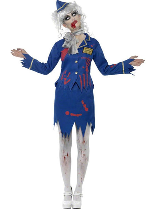 Zombie Air Hostess - Costume