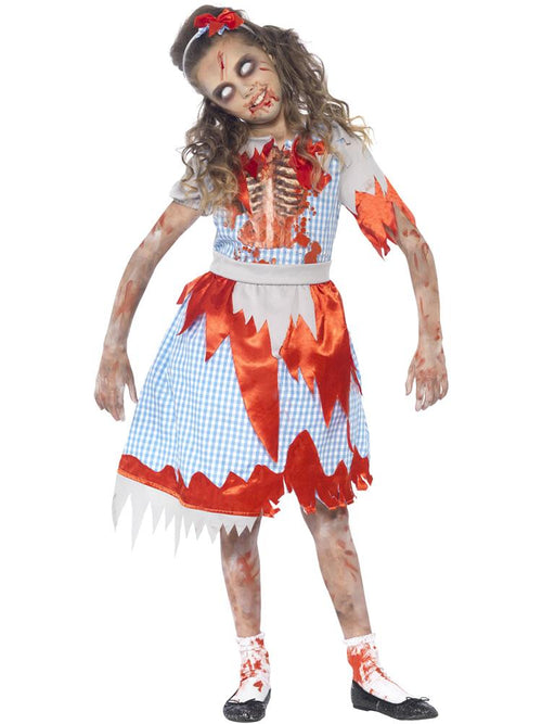 Zombie Country Girl - Child Costume