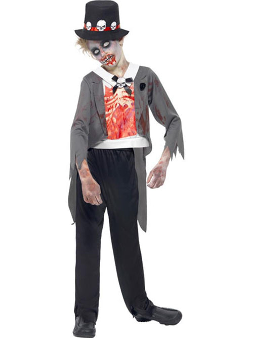 Zombie Groom - Child & Teen Costume