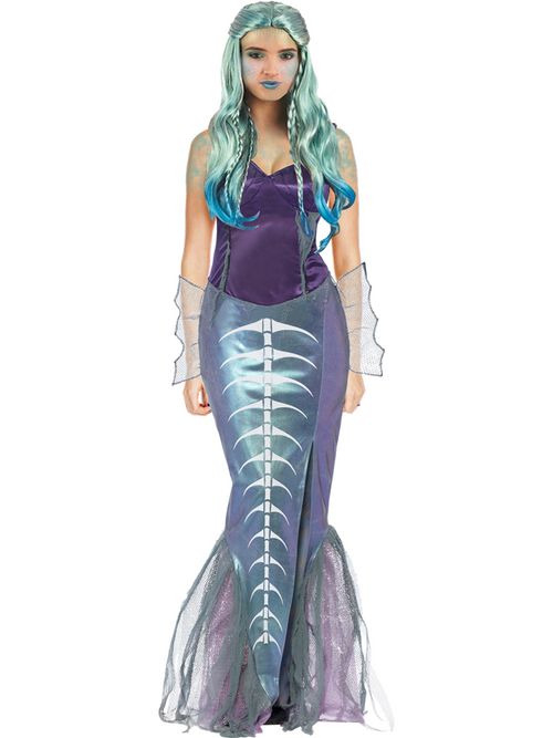 Zombie Mermaid - Adult Costume