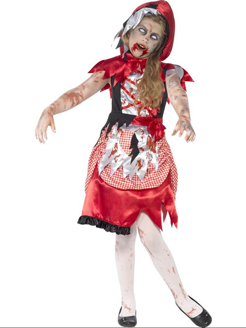 Zombie Miss Hood - Child Costume