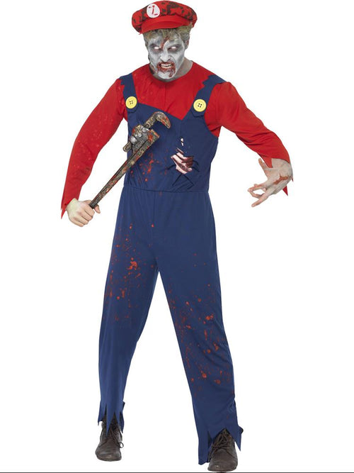 Zombie Plumber - Adult Costume
