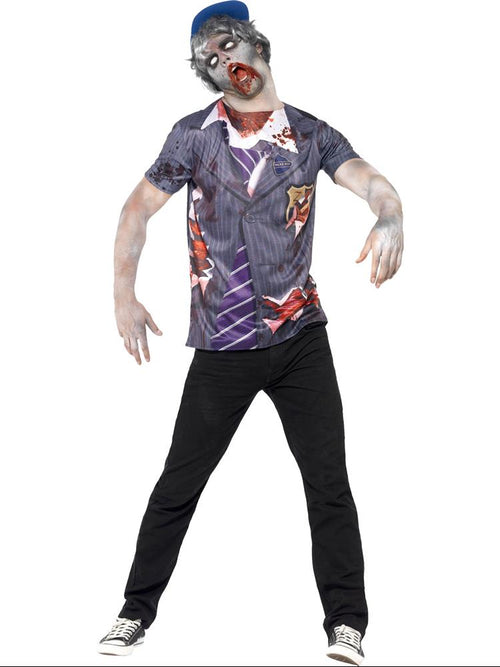 Zombie School Boy - Adult Costume
