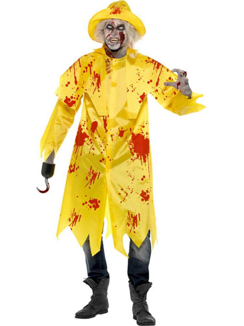 Zombie Sou'Wester - Adult Costume