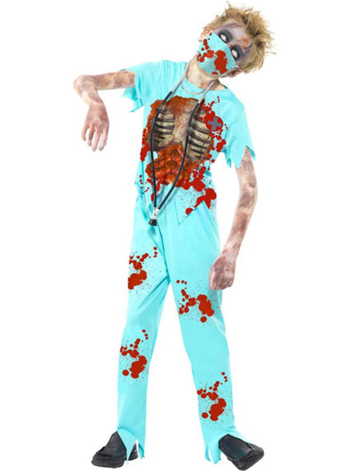 Zombie Surgeon - Child & Teen Costume