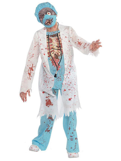 Zombie Surgeon - Child and Teen Costume