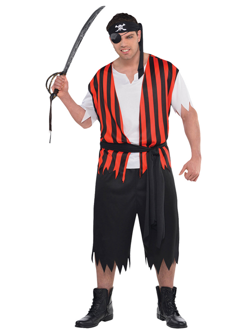 Ahoy Matey Pirate - Plus Size - Costume