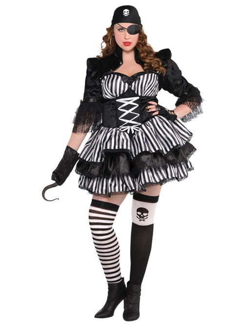 Dark Sea Maiden Plus Size - Costume