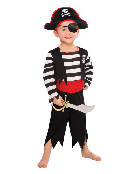 Deckhand Pirate - Child Costume - Fancy Dress Party Shop