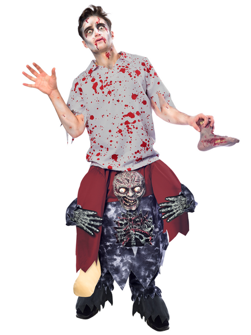 Piggy Back Zombie - Costume