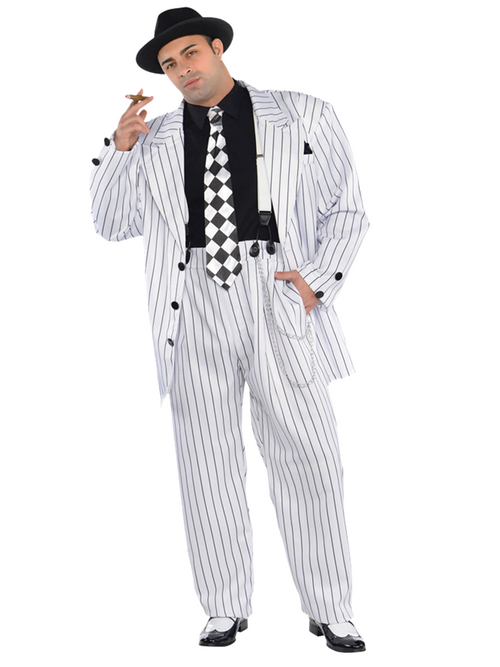 Pinstripe Daddy Plus Size - Costume