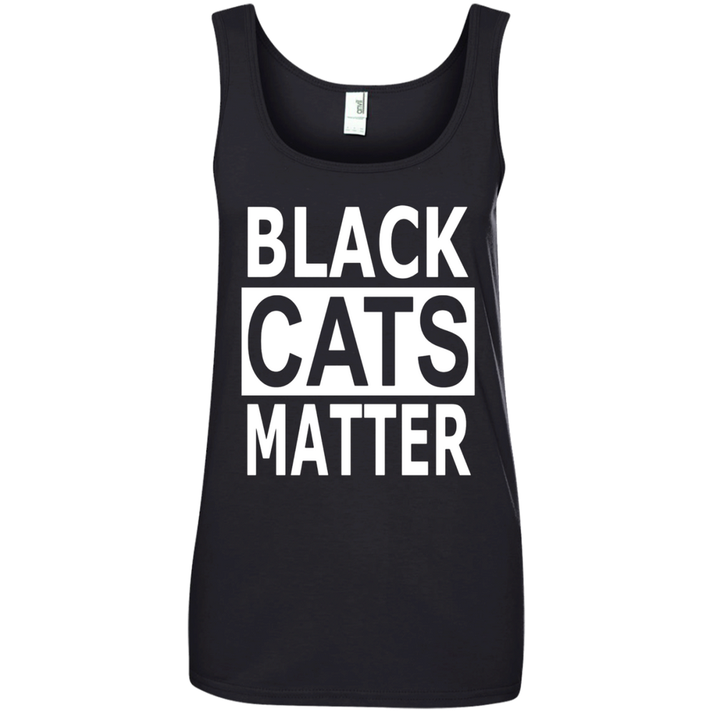 FUNNY Black Lives Matter Sarcastic Black Cats T-Shirt