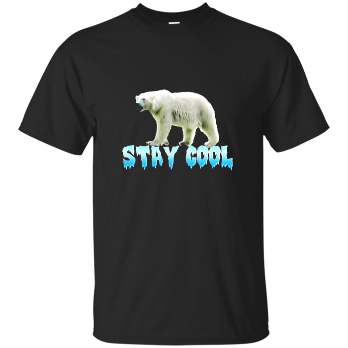 Polar Bear Stay Cool Arctic t-shirt Unless March for Science