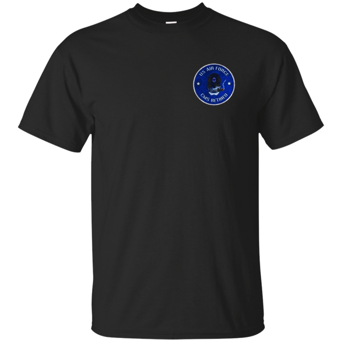 AIR FORCE CHIEF MASTER SERGEANT RETIRED DISTRESSED T-SHIRT