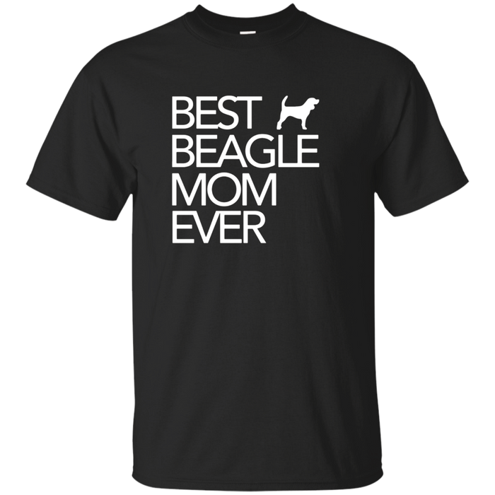 Best Beagle Mom Ever Dog Lover Gift T-Shirt