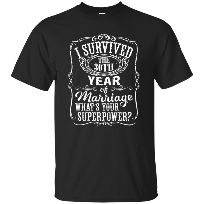 Anniversary Gift 30th - 30 years Wedding Marriage T-Shirt
