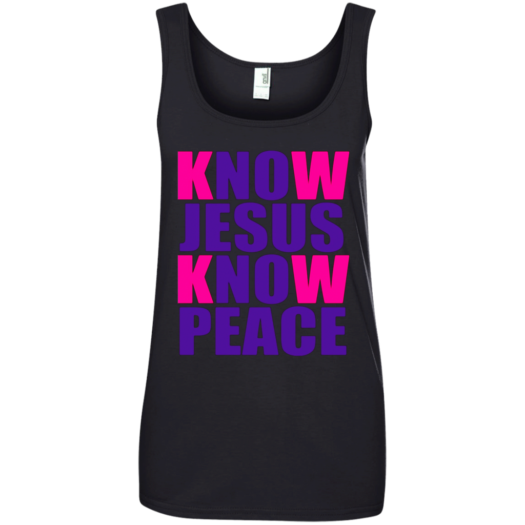 Know (NO) Jesus Know (NO) Peace Christian Gift T-shirt