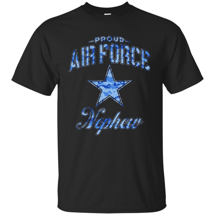 Air Force Nephew Shirts (Camo)
