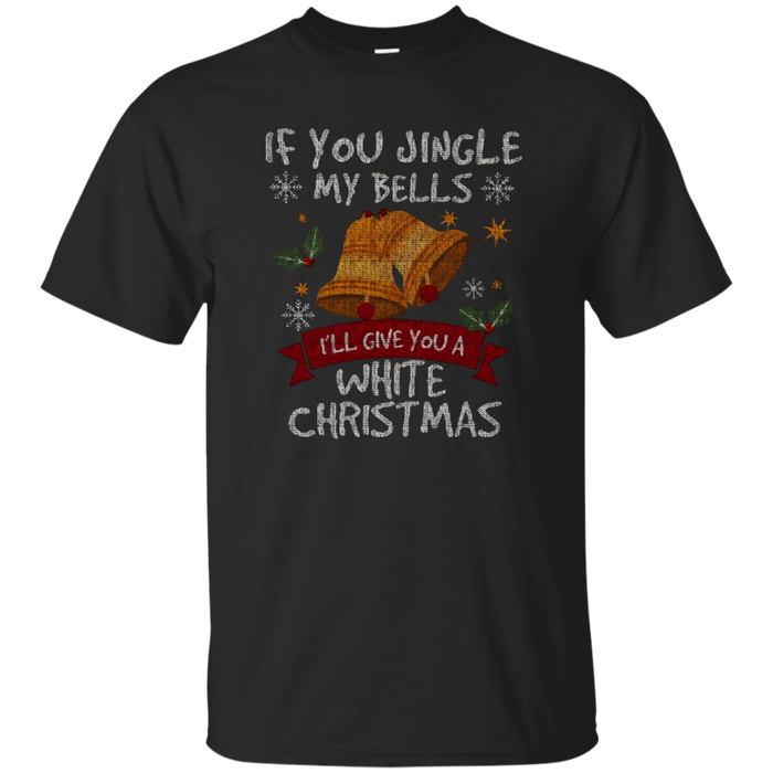 Mens Mens - Jingle My Bells Funny Adult Christmas T-Shirt