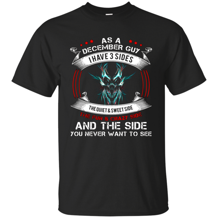 As a December guy T shirt