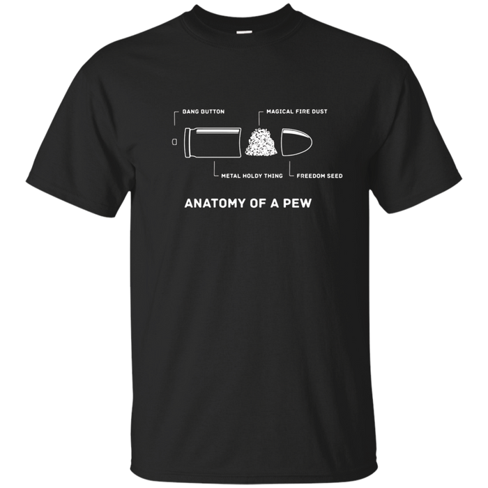 The Anatomy of a Pew T-Shirt