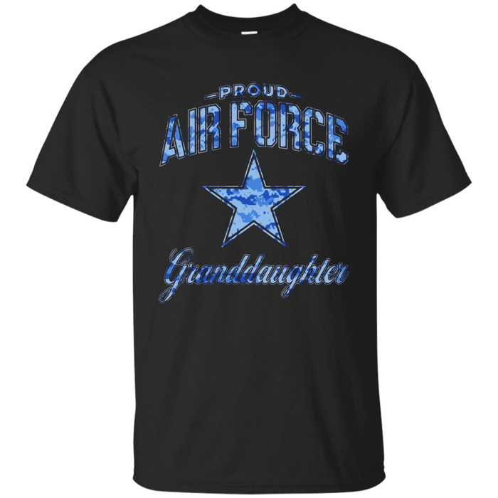 Air Force Granddaughter Shirts (Camo)