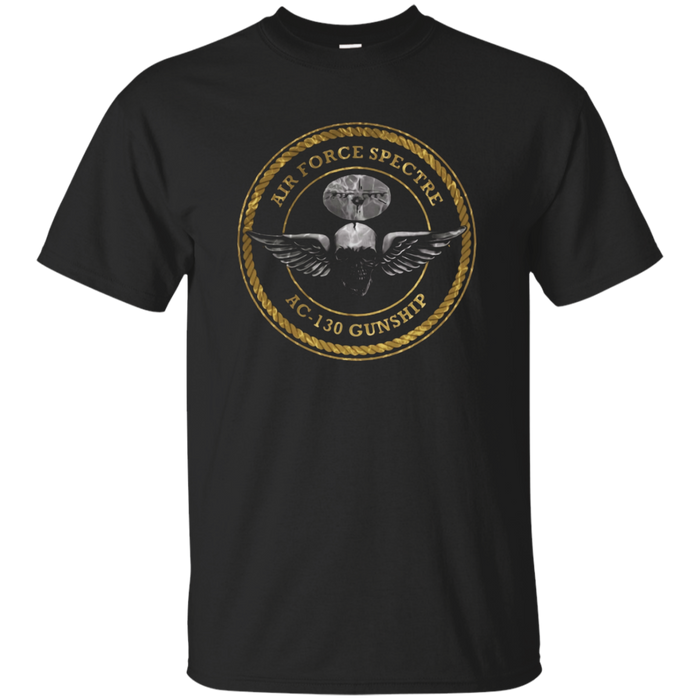 AIR FORCE AC-130 SPECTRE DISTRESSED T-SHIRT