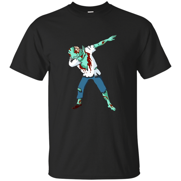 Halloween Dabbing Zombie T-Shirt Funny Dab Hip Hop Pose