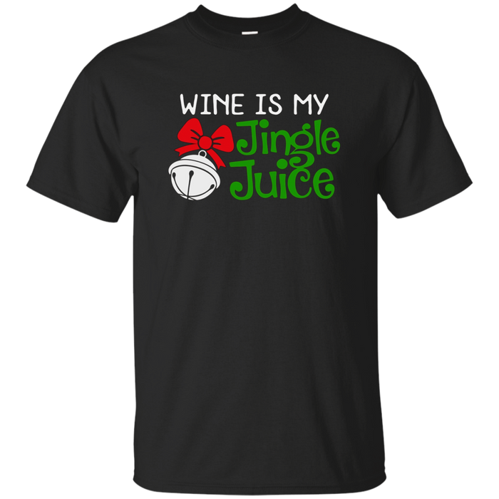 Funny Christmas Wine Jingle Juice T-Shirt