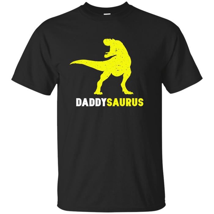 Daddysaurus TRex: Funny Dinosaur Shirt First Time Dad Gifts