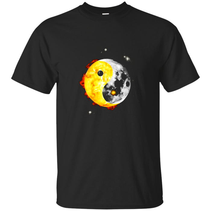 Yin Yang Total Solar Eclipse 2017 August T-Shirt Gift