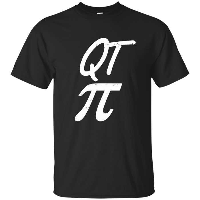 Funny QT Pi Pun Math T-Shirt March 14