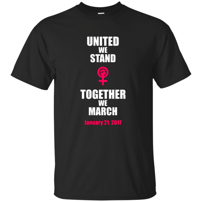 March on Washington Shirt- Million Women March Shirt