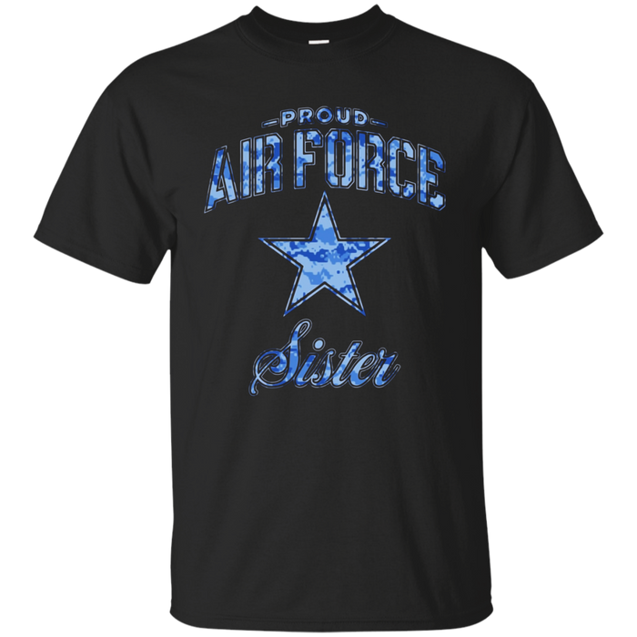 Air Force Sister Shirts (Camo)