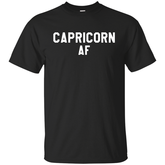 Capricorn AF Horoscope December & January Birthday TShirt