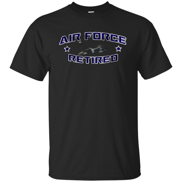 AIR FORCE RETIRED F-16 FIGHTING FALCON DISTRESSED T-SHIRT