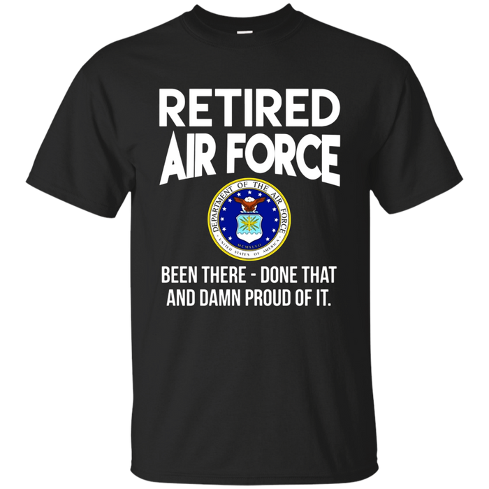 Air force retired shirt - Army retired shirt