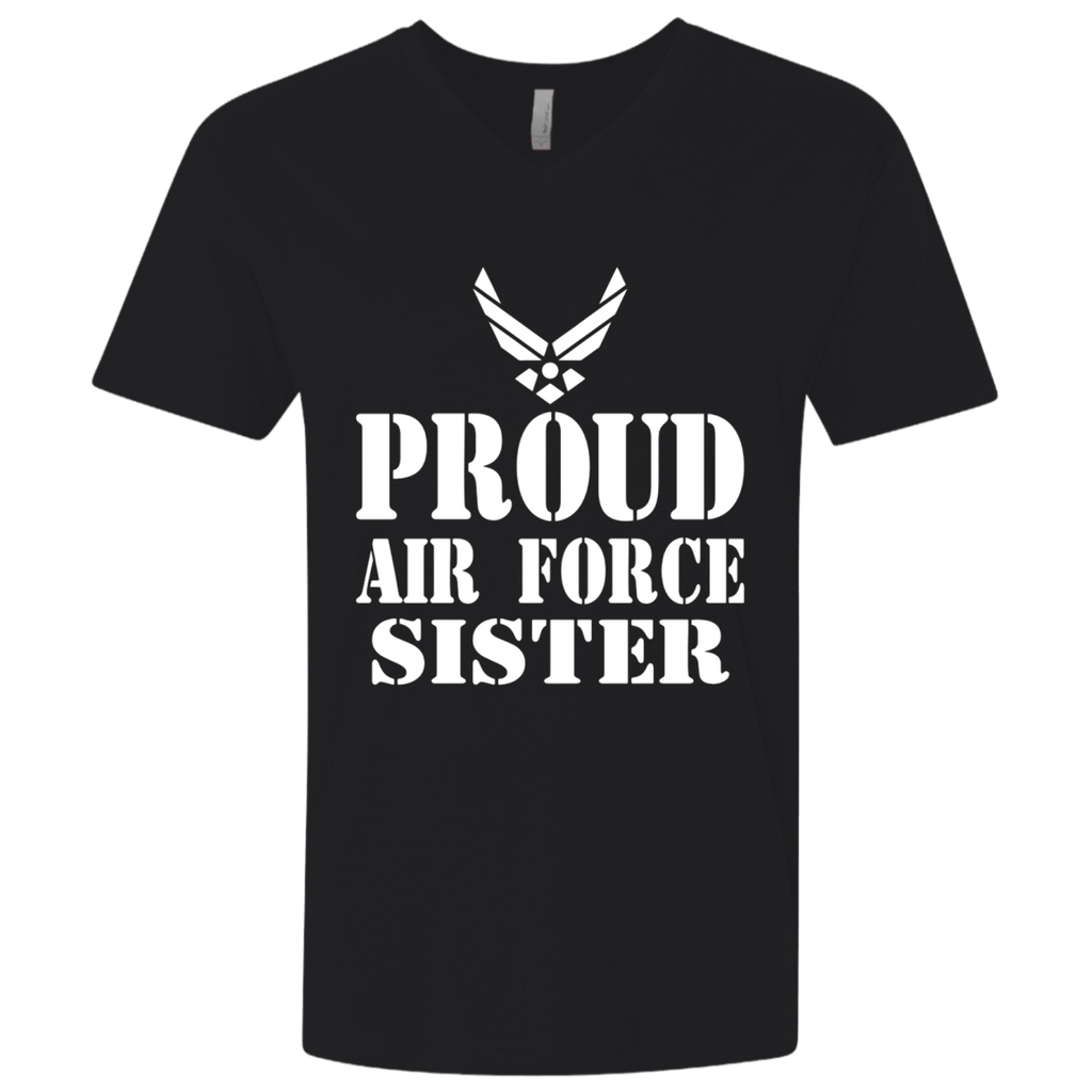Proud Air Force Sister Military Veteran T-shirt