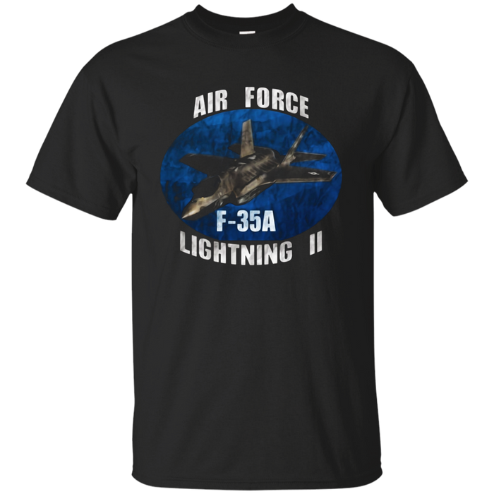 AIR FORCE F-35 LIGHTNING DISTRESSED  T-SHIRTS