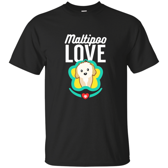 maltipoo T Shirt dog puppy maltese poodle