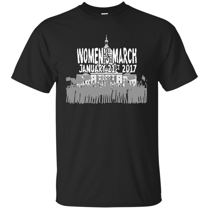 WMW Women's March Jan 21st 2017 Solidarity Graphic T-Shirt