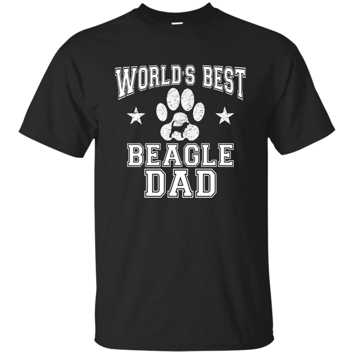 Men's World's Best Beagle Dad Dog Owner T-Shirt