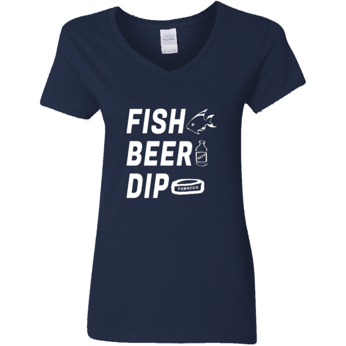 Beer, Fish, Dip. Country Hillbilly Graphic T Shirt