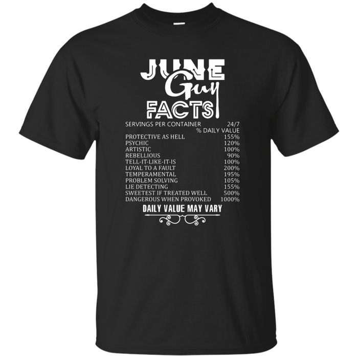 June Guy Facts T-shirt