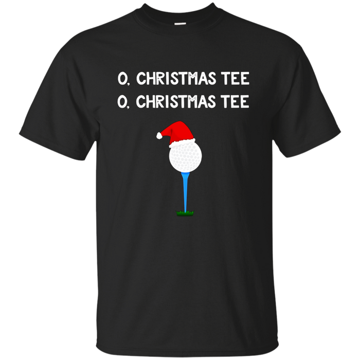 O Christmas Tee T-Shirt Funny Christmas Pun Gift for Golfers