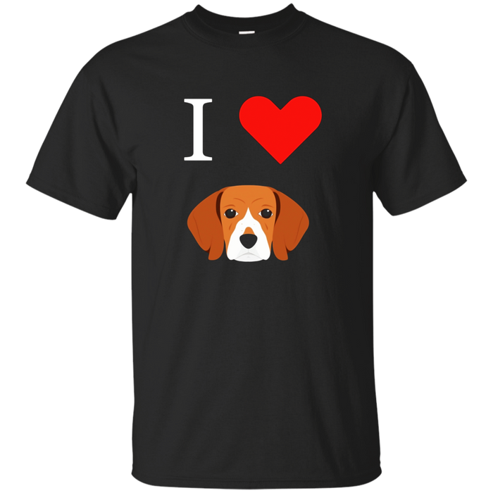 I Love My Beagle T-Shirt Dog Lover Tees