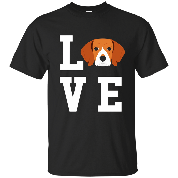 I Love My Dog Beagle Animal Lover T-Shirt