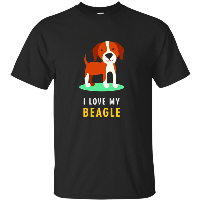 Beagle T-shirt - I love my beagle