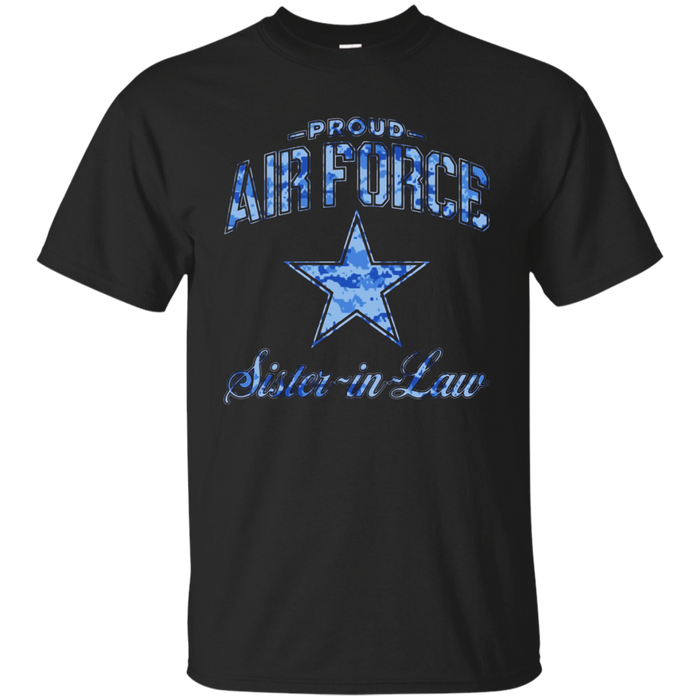 Air Force Sister-in-Law Shirts (Camo)